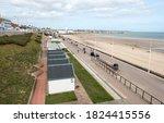 Row Of Beach Huts Example