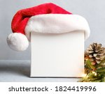 Blank Square Canvas Board With...