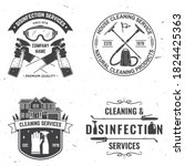 set of disinfection and... | Shutterstock .eps vector #1824425363