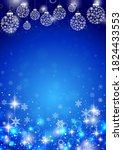 beautiful glitter background... | Shutterstock .eps vector #1824433553