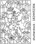 Coloring Pages. Magic Christmas ...