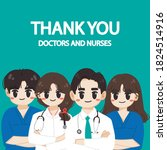 vector illustration of thank... | Shutterstock .eps vector #1824514916