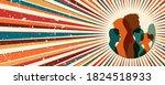 diversity multiethnic group... | Shutterstock .eps vector #1824518933