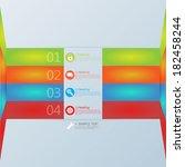 design template banners set   Shutterstock .eps vector #182458244