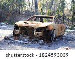 Accident And Burned Car  Litte...