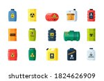 Containers Toxic And Chemical...