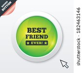 best friend ever sign icon....