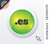 domain es sign icon. top level...