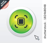 autofocus zone sign icon. photo ...