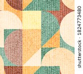 seamless geometric embroidery... | Shutterstock .eps vector #1824773480