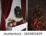 Christmas  New Year Interior...