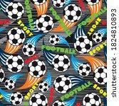 abstract seamless pattern.... | Shutterstock .eps vector #1824810893