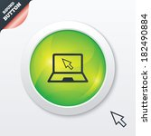 laptop sign icon. notebook pc...