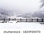 Shirakawa Go Villages Snowfall...