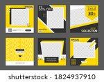 editable post templates for... | Shutterstock .eps vector #1824937910