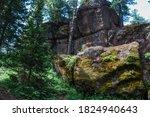 Big Geometric Stone Rocks...