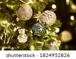 Bright Green Christmas Tree...