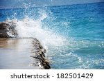 waves | Shutterstock . vector #182501429