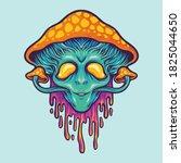 Alien Magic Mushrooms...