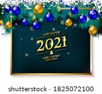 christmas background with... | Shutterstock . vector #1825072100