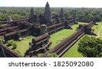 Siem Reap City And Angkor Ruins