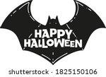 happy halloween hand drawn...   Shutterstock .eps vector #1825150106