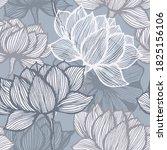 Flower Line Art. Vector Floral...