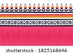 geometric ethnic pattern...   Shutterstock .eps vector #1825168646
