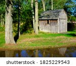 Rustic Small Barn Shed With...