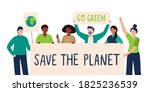 a multicultural group of eco...   Shutterstock .eps vector #1825236539