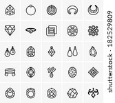 jewelry icon   Shutterstock .eps vector #182529809
