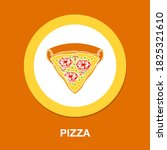 pizza icon   simple  vector ...
