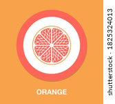 orange icon   simple  vector ...