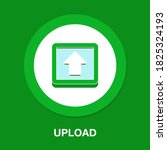 upload flat icon   simple ...