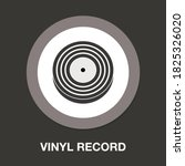 vinyl record flat icon   simple ...