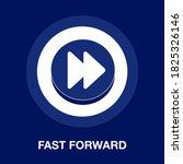 fast forward flat icon   simple ...