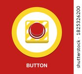 button flat icon   simple ...