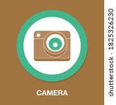 camera flat icon   simple ...