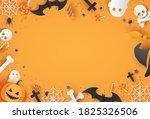 happy halloween tricks or... | Shutterstock .eps vector #1825326506