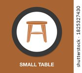 small table icon   simple ...
