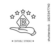 brand ambassador icon. hand...   Shutterstock .eps vector #1825347740
