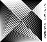 abstract halftone lines... | Shutterstock .eps vector #1825347773