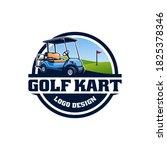 simply logo design for golf... | Shutterstock .eps vector #1825378346