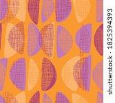 fun bright fabric pattern in...   Shutterstock .eps vector #1825394393