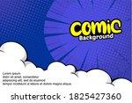 pop art comic halftone...   Shutterstock .eps vector #1825427360