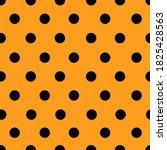 black polka dots seamless... | Shutterstock .eps vector #1825428563