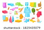 bath accessories cartoon set.... | Shutterstock .eps vector #1825435079