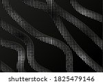black paper cut background.... | Shutterstock .eps vector #1825479146