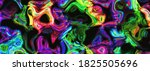 Neon Colorful Psychedelic Wavy...