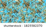 vector damask vintage baroque... | Shutterstock .eps vector #1825582370